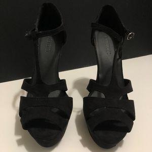 Forever 21, Black Strappy Heels